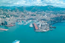 City of Genova Italy