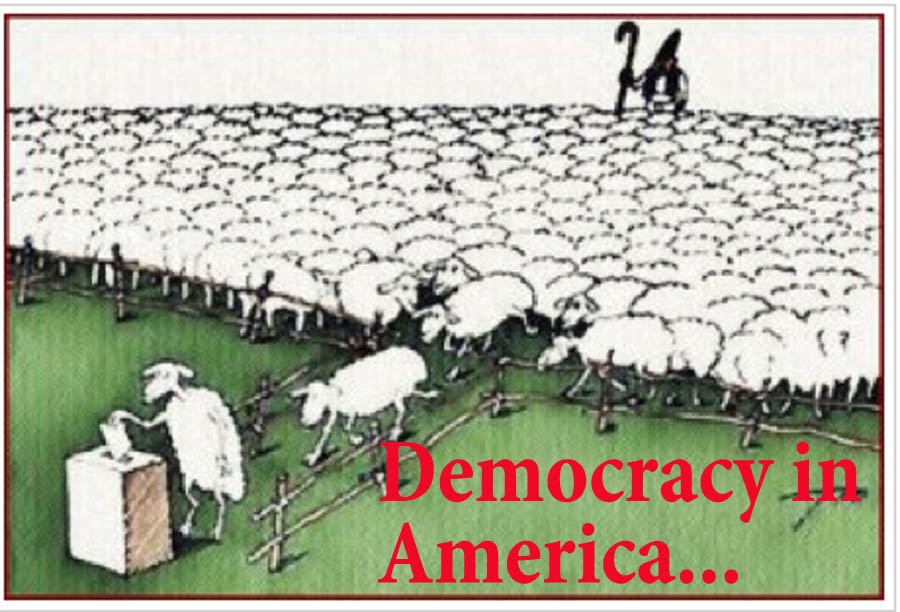 democracy in america 220 quotes from democracy in america: 'i do not know if the people of the united states would vote for superior men if they ran for office, but there can.