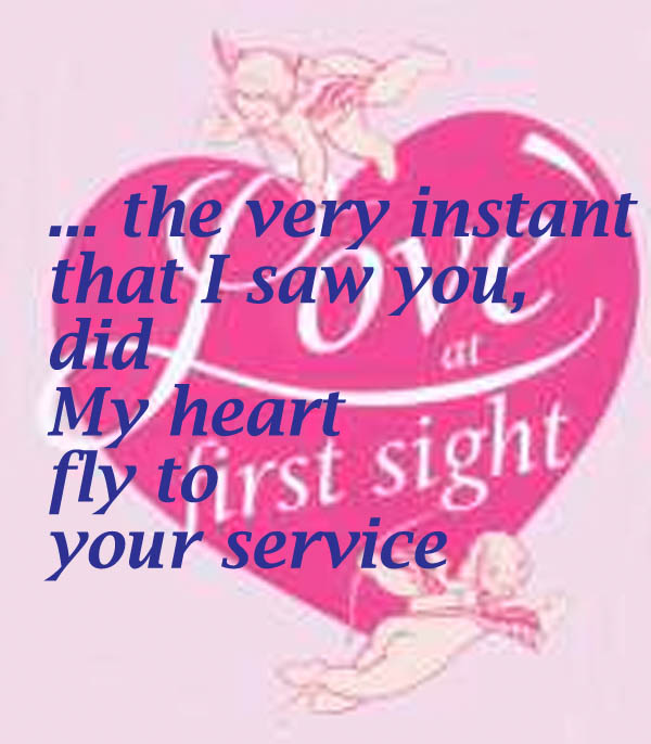 Beautiful Romantic Shakespeare Quote on Love at First SightYour Stunning Quotes About Love At First Site
