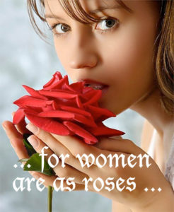for women are as flowers