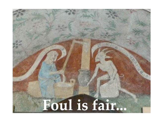 foul is fair and fair is foul macbeth essay