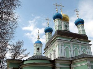 image of Opina russian sanctuary, a suitable icon to associate with the thoughts found in the Brothers Karamazov on the meaning of freedom