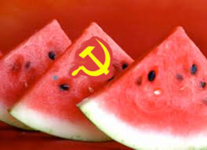 "Communists and Watermelons and a quote from Macbeth, ""…and begin To doubt the equivocation of the fiend That lies like truth"""
