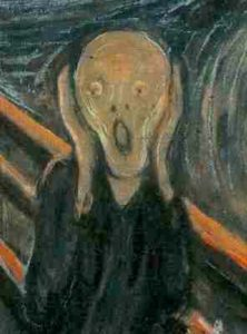 shakespeare's Mad we can call it; for, to define true madness, what is it but to be nothing else but mad!, the scream painted by Munch