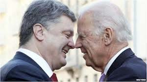 Biden and Poroschenko celebrating the victory of the Maidan Coup