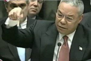 colin powell & 'proof' of WMD
