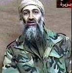 "image of osama bin laden as a commentary to the lines ""...the undiscovered country, from whose bourn no traveller returns"""