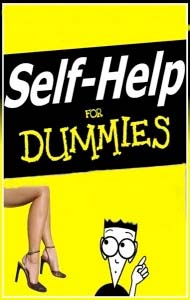 an illustration for the blog War on Common Sense self-help for dummies