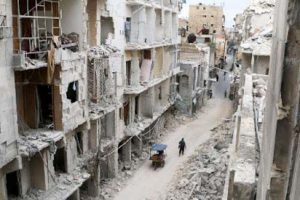 Image of Aleppo in Ruins