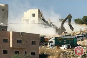 Israel demolishes Palestinian houses and apartments in East Jerusalem